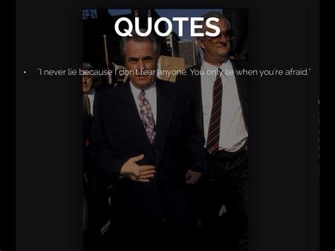 john gotti quotes  lie quotesgram