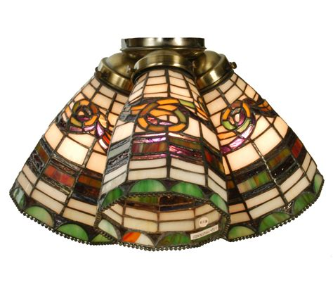 stained glass ceiling fan add decor and lighting to your room using stained glass
