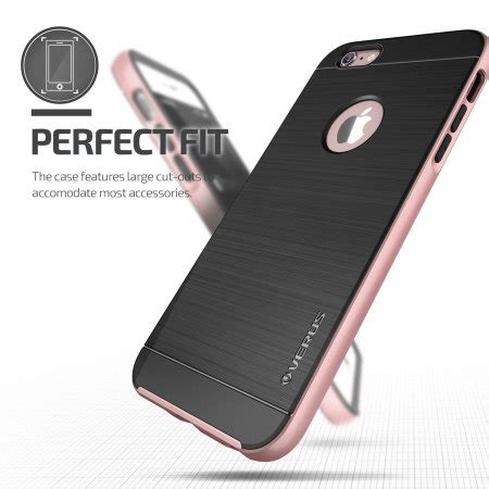 Verus High Pro Shield Iphone 6 Plus 6s Plus Crimson verus high pro shield series iphone 6s plus 6 plus gold reviews mobilezap australia