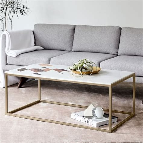 marble glass coffee table indian marble coffee table west elm