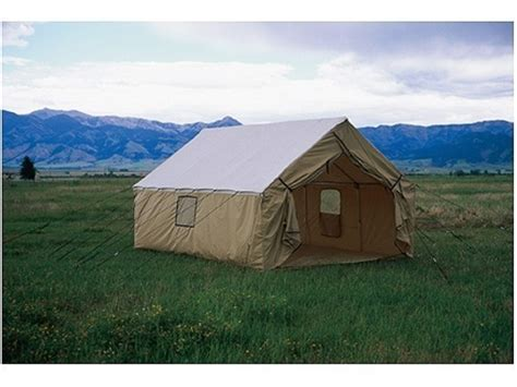 white canvas wall tent 10 x14 canvas wall tents durable montana canvas 10 x 14 wall tent sewn in floor 12oz
