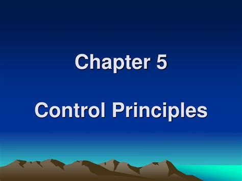 chapter ppt ppt chapter 5 principles powerpoint presentation id 478388