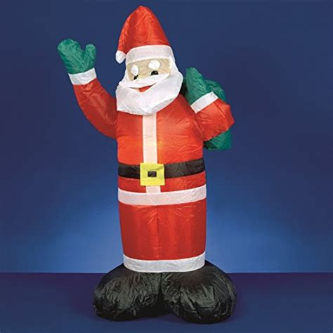 1 2m inflatable santa premier christmas decorations