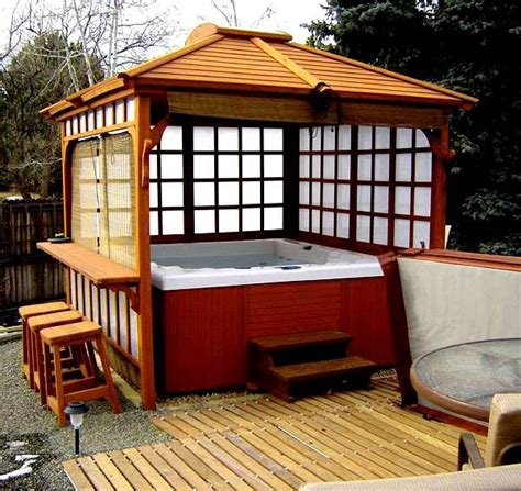 whirlpool im garten 229 die besten 25 whirlpool pavillon ideen auf