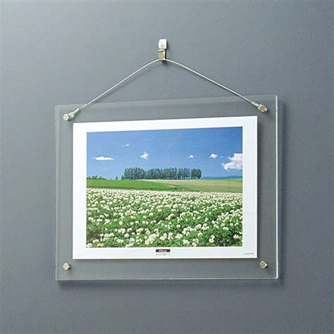 frameless 5 x 7 clip picture frame tempered glass frameless picture frames acrylic led backlit photo frame