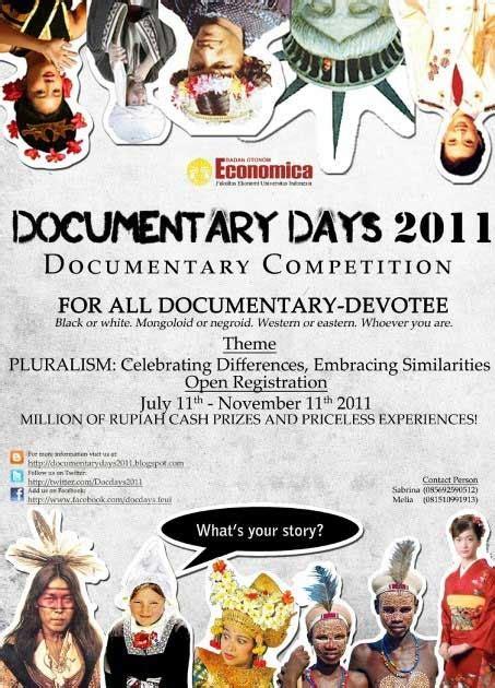 lomba film dokumenter pelajar 2013 kompetisi film dokumenter documentary days 2011 kumpulan