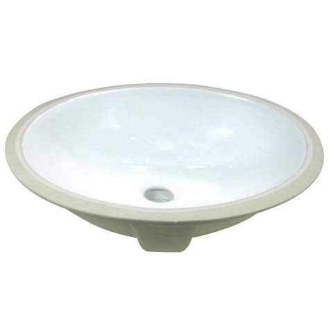 small undermount sinks bathroom denovo small oval 15x12 inch white porcelain undermount