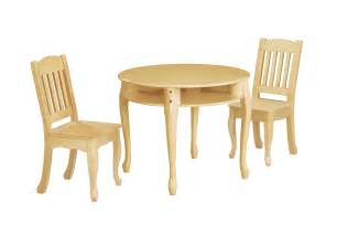 Table And Chair Sets Children S Windsor Round Table And Chairs Set Natural