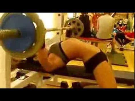 Sexy Russian Girl Bench Press Youtube
