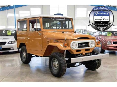 classic land cruiser for sale 1973 toyota land cruiser fj for sale classiccars com