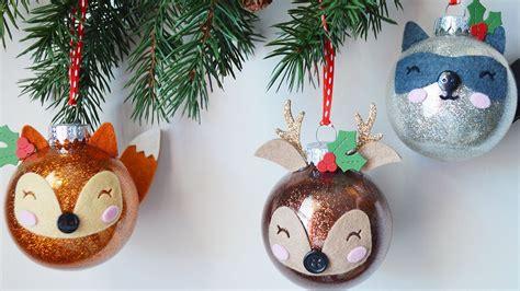 handmade christmas ornaments youtube