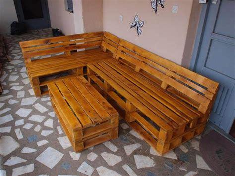 L Shaped Pallet diy pallet l shape sofa set pallet furniture diy