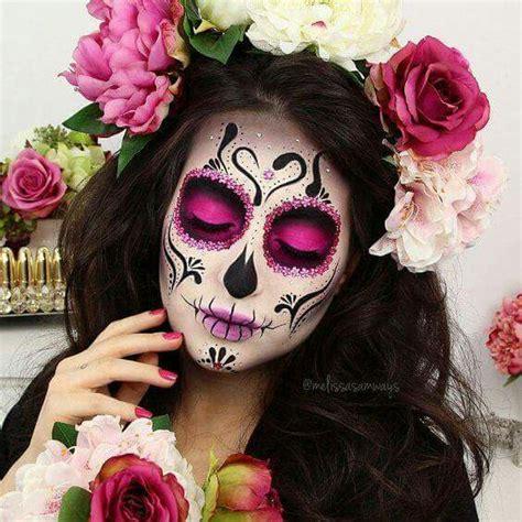 imagenes de catrina halloween m 233 xico catrina rosa flores catrinas pinterest