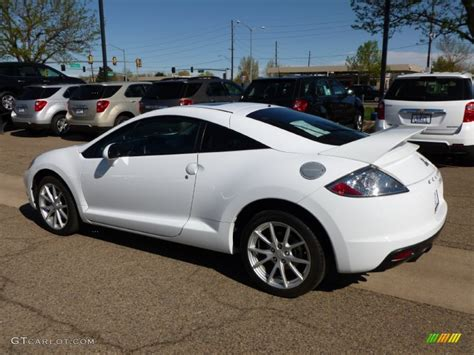 white mitsubishi eclipse 2009 northstar white satin mitsubishi eclipse gt coupe