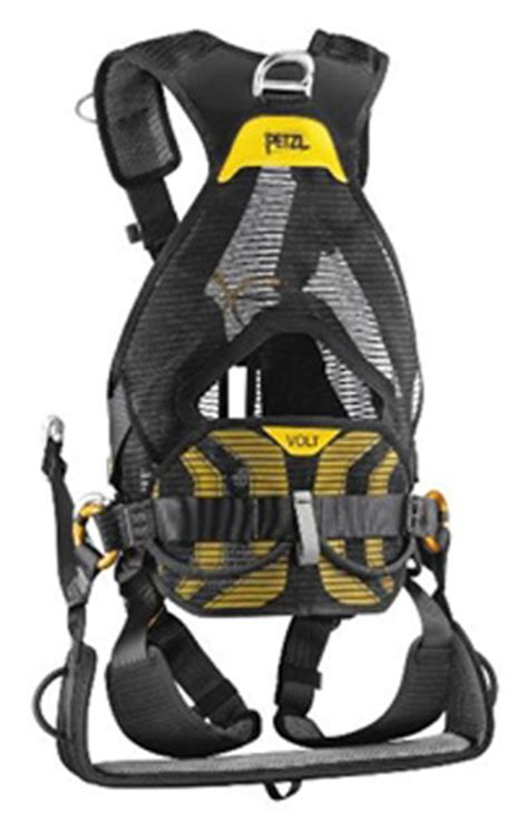 Fulbody Harnes volt and seat harness w oxan triact lock carabiner