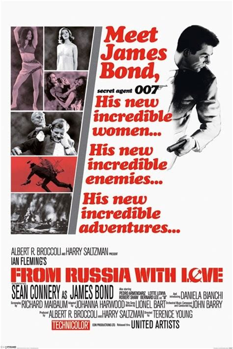 james bond from russia with love james bond 007 from russia with love poster sold at europosters