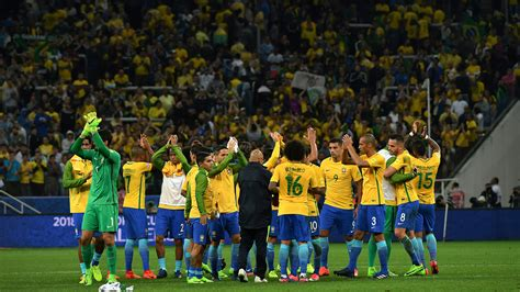brazil emerges country to qualify for russia 2018