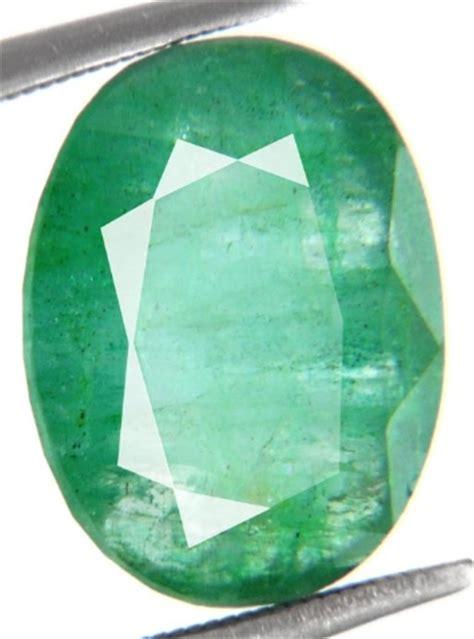buy 5 60 ct certified precious columbian emerald gemstone