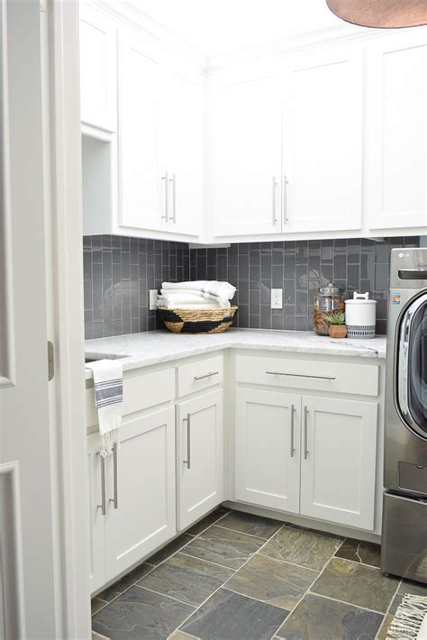 beautiful cabinets and carrara marble on pinterest beautiful laundry room ideas white shaker cabinets large