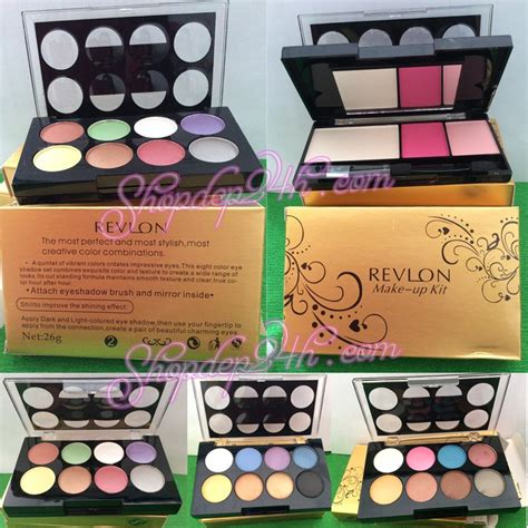 1 Set Kuas Make Up Revlon set make up revlon spmrvl sendo vn