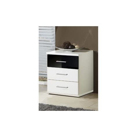 Black And White Chest Of Drawers Black And White Bedside Chest Of Drawers Less