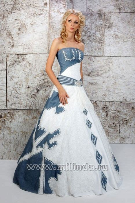 White Demin Wedding Dresses by 17 Best Images About Wedding Denim On Denim