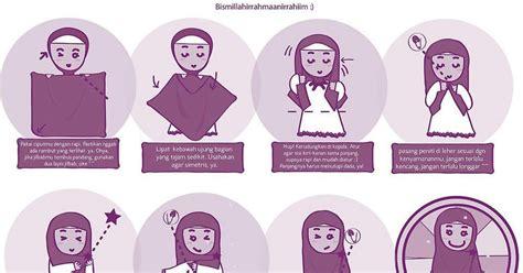 bundanya al tutorial jilbab syar i