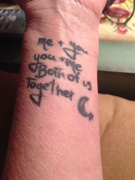 tattoo quotes for my daughter mom daughter tattoo quote taken from monsters inc my
