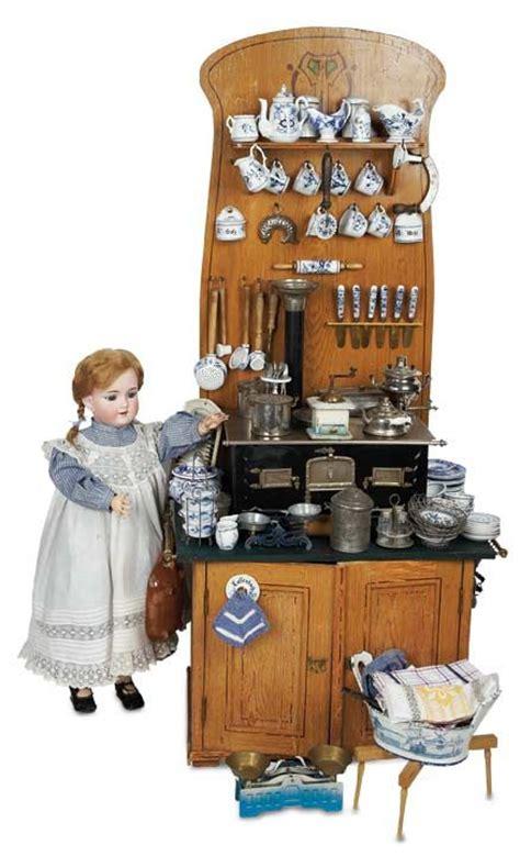vintage child s play kitchen cupboard hutch wood step antique german wooden kitchen cabinet for child s play c