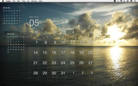 Calendar For Desktop Desktop Calendar Plus Mac