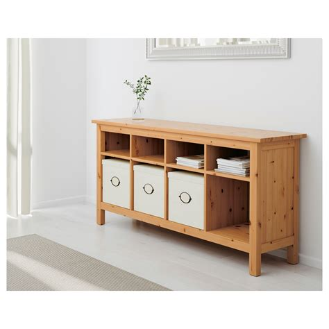 ikea console hemnes console table light brown 157x40 cm ikea