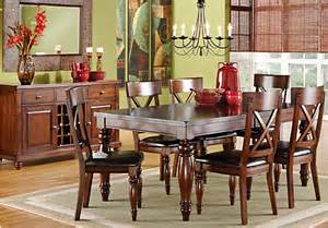 rooms to go dining tables calistoga raisin 5 pc rectangle dining room dining room sets