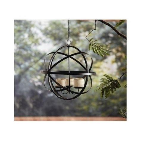 Patio Candle Sphere Chandelier Outdoors Garden Gazebo Outdoor Gazebo Lighting Chandelier