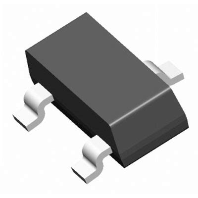 darlington transistor sot 23 mmbta13 7 f diodes zetex transistor darlington npn 30 volt 0 3 3 pin sot 23 and reel