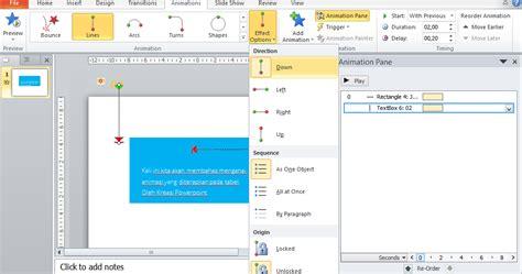 tutorial membuat powerpoint yang bagus cara membuat animasi tabel powerpoint dengan mudah