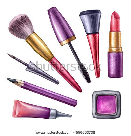 make up clip illustration makeup trends stock images royalty free