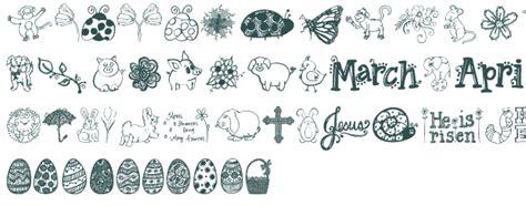 free doodle dingbat fonts janda doodles font free truetype