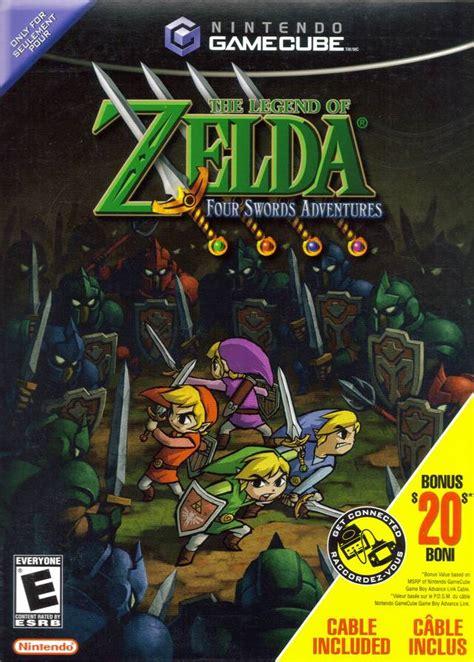 legend of four swords gamespace11box gamerankings