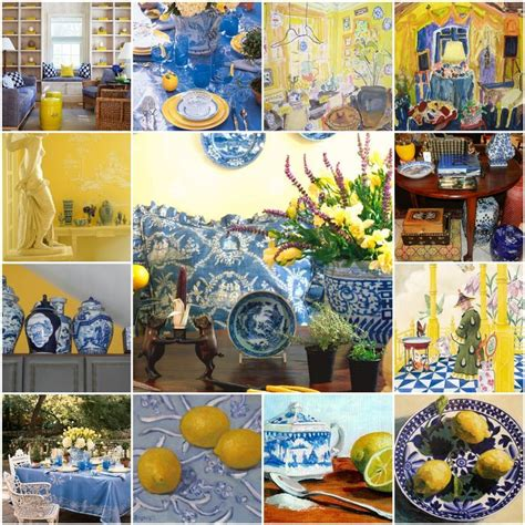 blue and yellow decor blue and yellow kitchen decor kitchen and decor