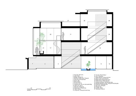 layout section view gallery of 7x18 house ahl architects associates 45