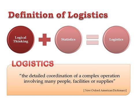design logistics meaning logistics operation industrial logistics bpt 3123 ppt