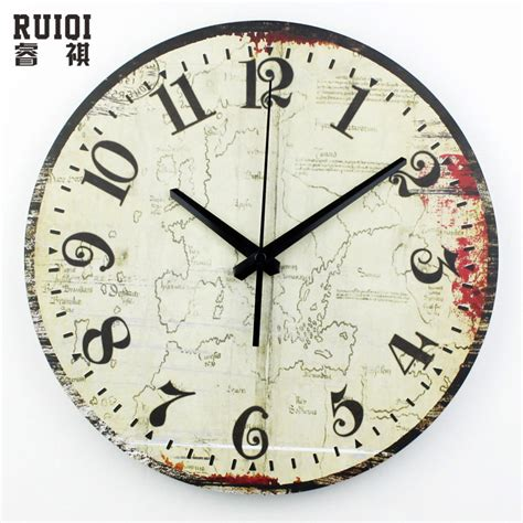 fashion meeting room wall decor clocks absolutely silent aliexpress com buy world map meeting room decoration