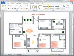 How To Create A Floor Plan In Word by Free Home Plan Templates For Word Powerpoint Pdf