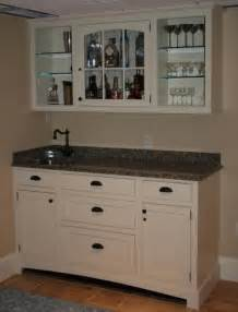Bar Sink And Cabinets Custom Made Top Bar Cabinet And Sink By R A