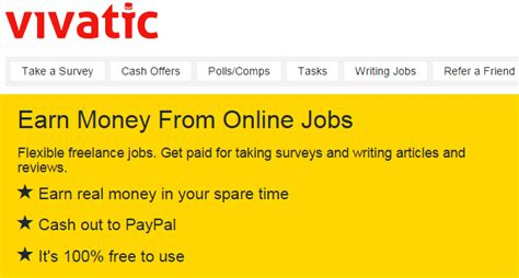 How To Make Money Writing Articles Online Uk - vivatic earn money from data entry surveys article writing polls gofj blog