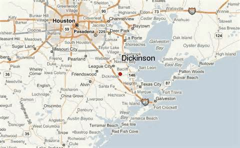 map of dickinson dickinson location guide