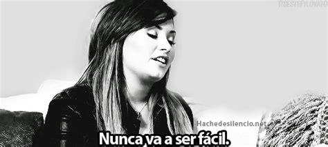 tumblr images love español gif demi frases m 195 186 sica blanco y negro pensamiento frases
