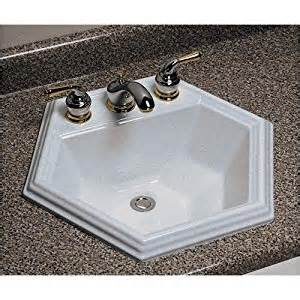 How To Install A Kitchen Sink Faucet amazon com advantage edgefield self rimming hexagon