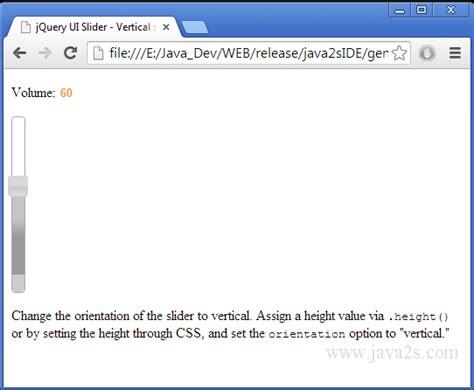 tutorial javascript image slider index of tutorials javascriptimage jquery ui slider