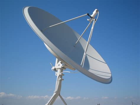 satellite dish installation  setting  receiver
